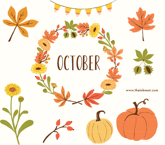 October-the-ink-nest-clip-art